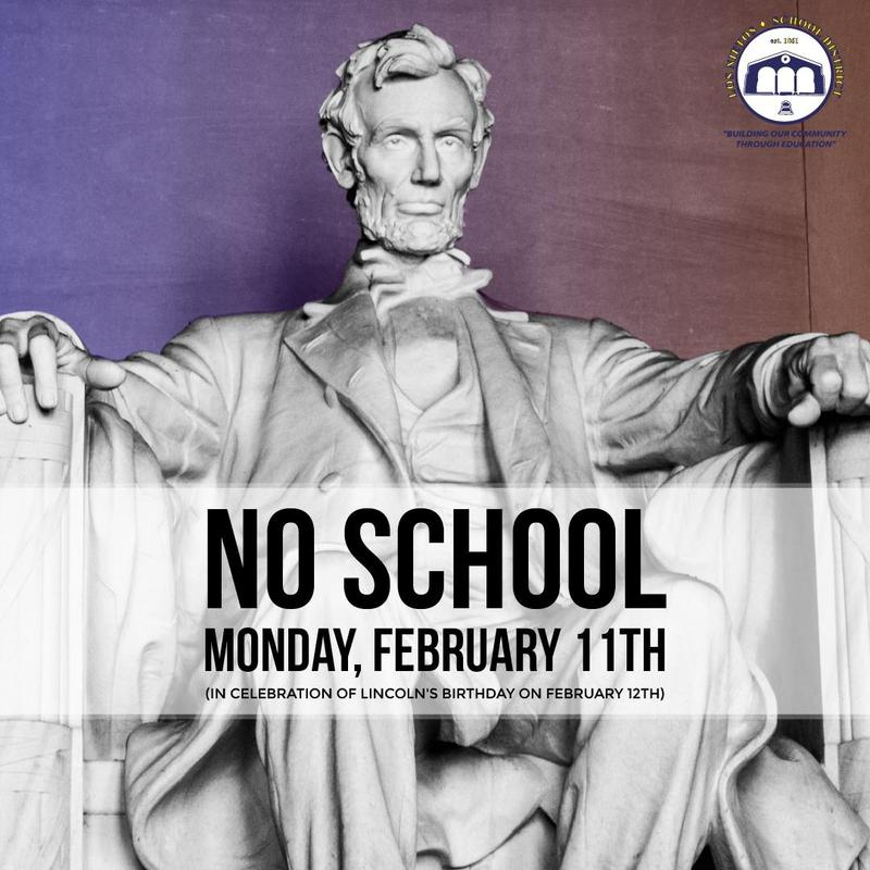 No School - Lincoln's Birthday Featured Photo