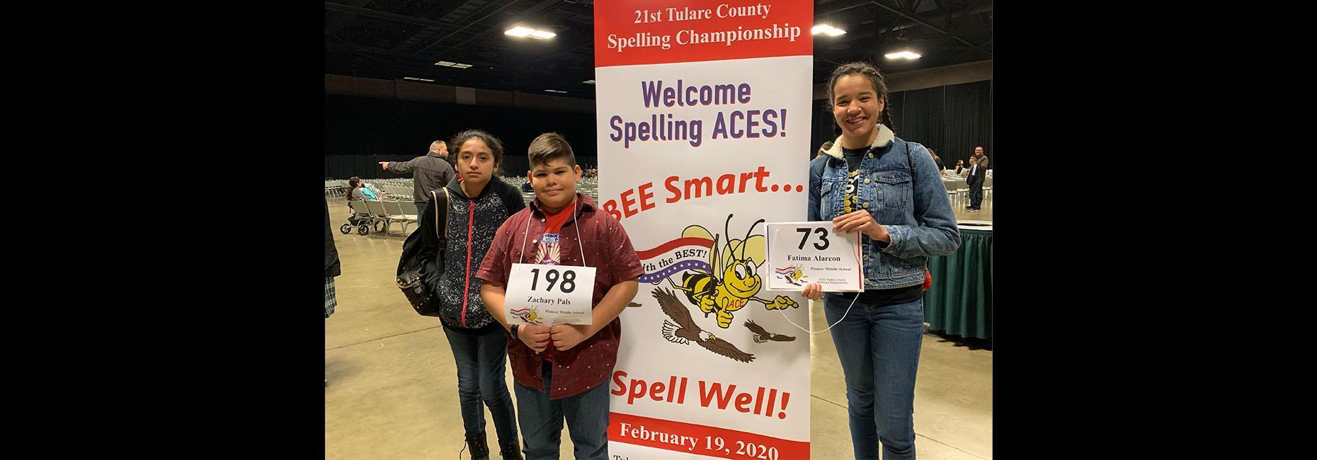 TCOE Spelling Bee