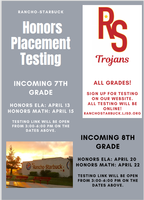 honors flyer