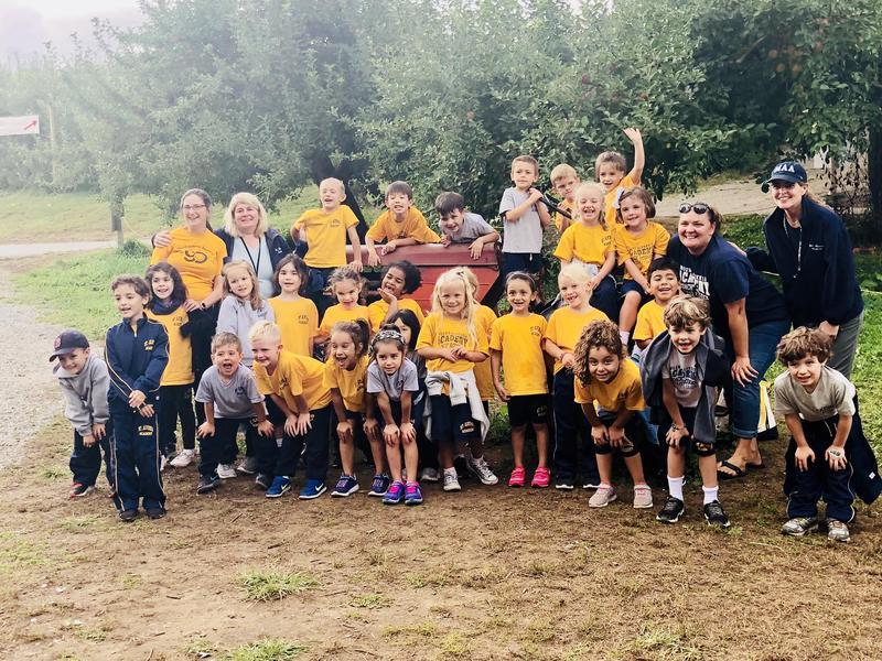 Kindergarteners Go Apple Picking Featured Photo