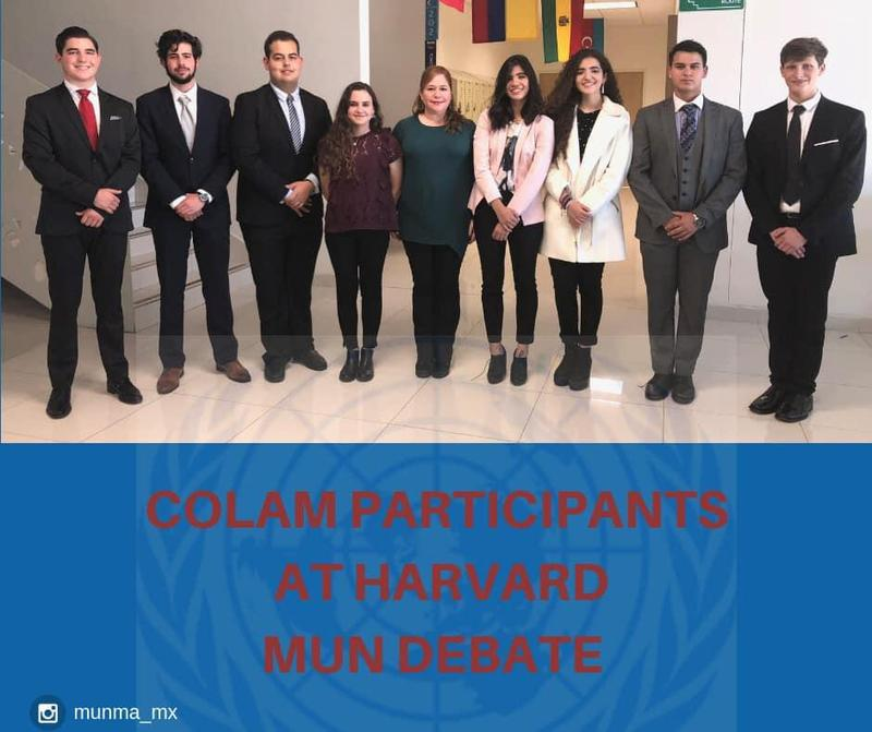 COLAM HS students go to Harvard University for MUN debate Featured Photo