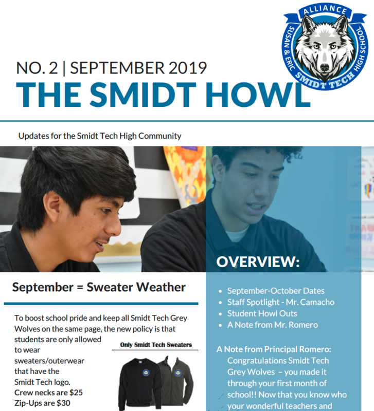 The Smidt Howl - September 2019 Thumbnail Image