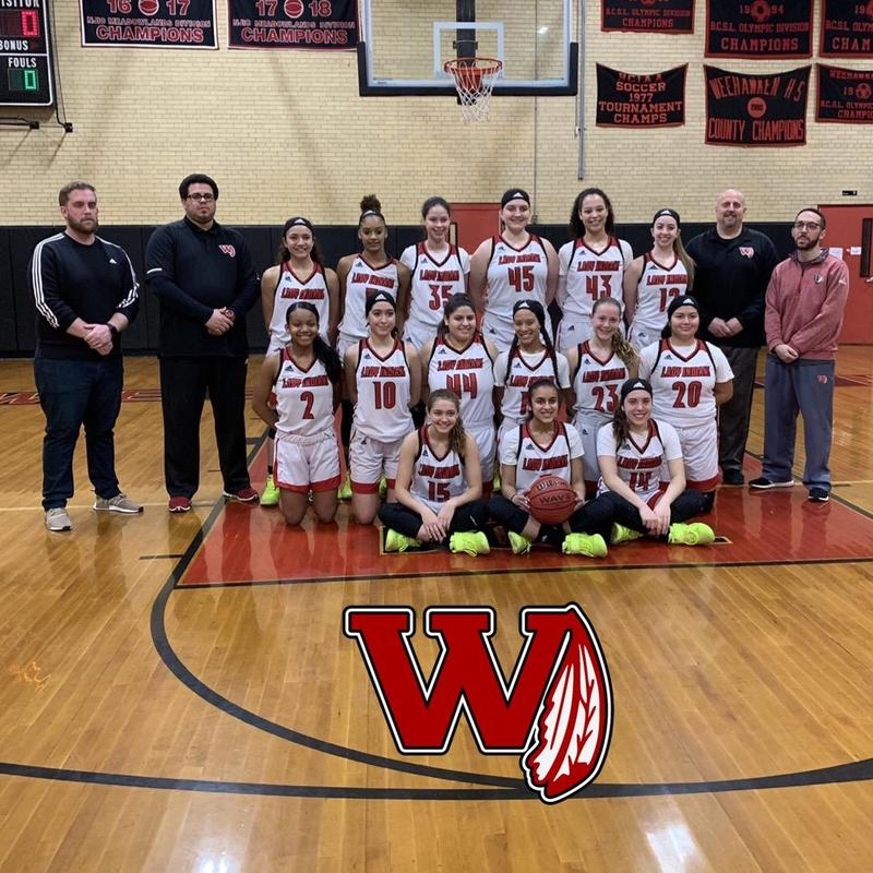 Lady Indians Basketball Champions