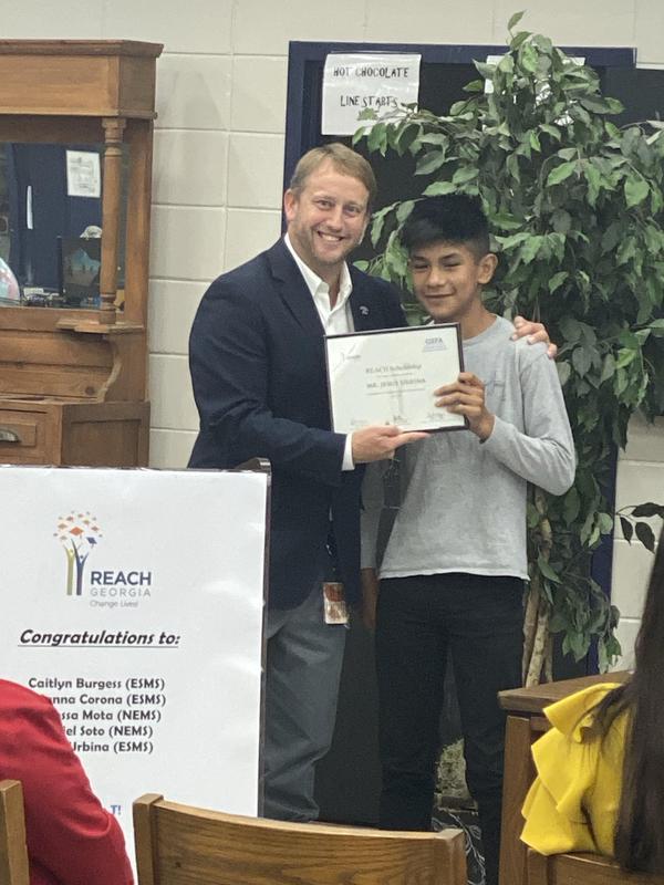 Jesus Urbina  - 2019 REACH Scholarship Recipient