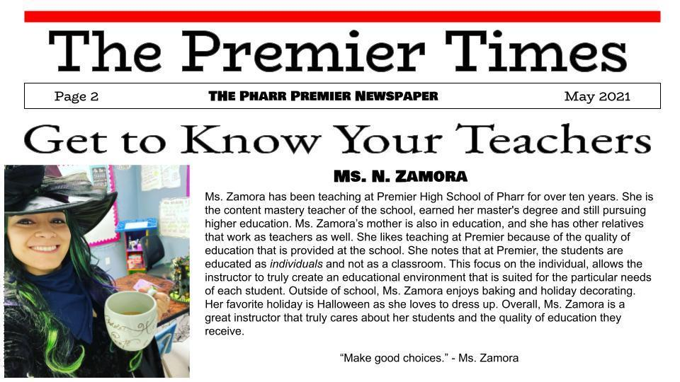 The Premier Times--Page 2