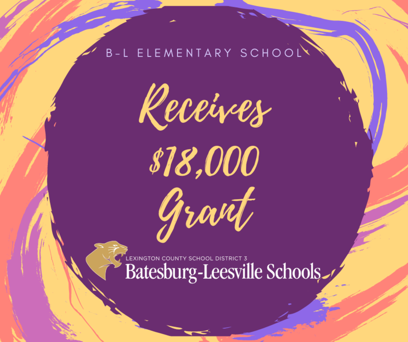 B-L Elementary School Receives $18K Grant