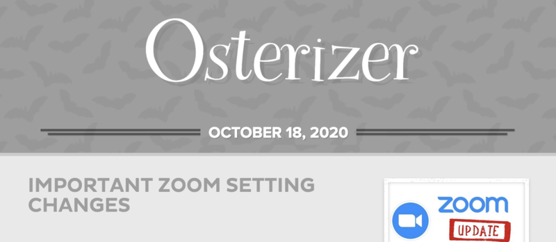 Osterizer - October 18th, 2020 Featured Photo
