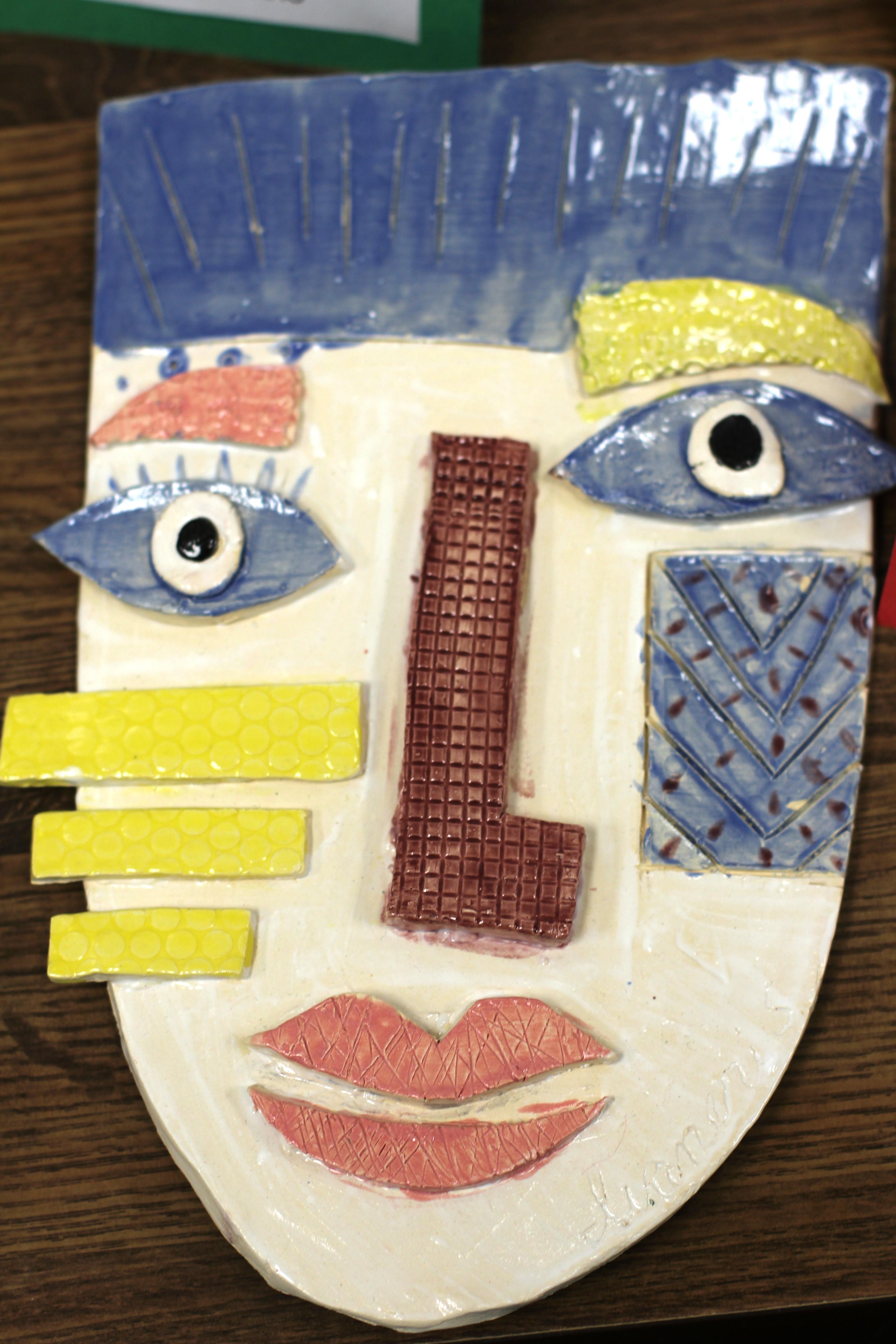 AHS Art ceramic mask