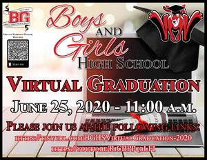 BGHS Virtual Graduation