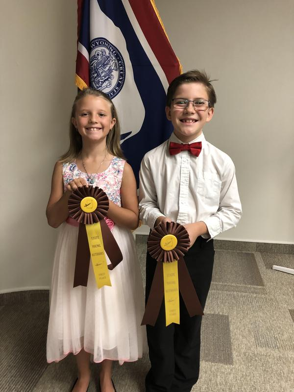 Congratulations State Young Author Winners! Thumbnail Image