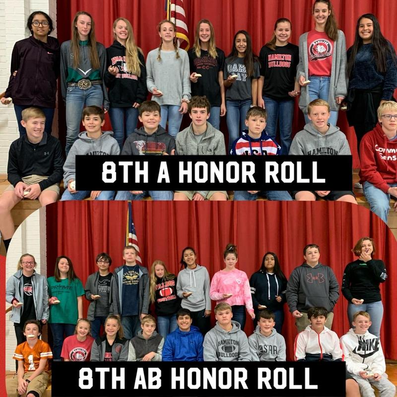 8th Grade A and AB Honor Rolls Thumbnail Image