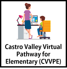 CVVPE on a desk with a female teacher.  student in background