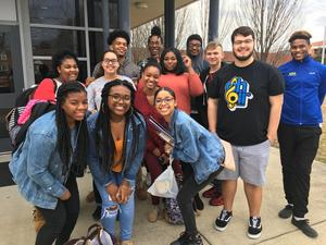 HHS Chorus at All-District Chorus Competition