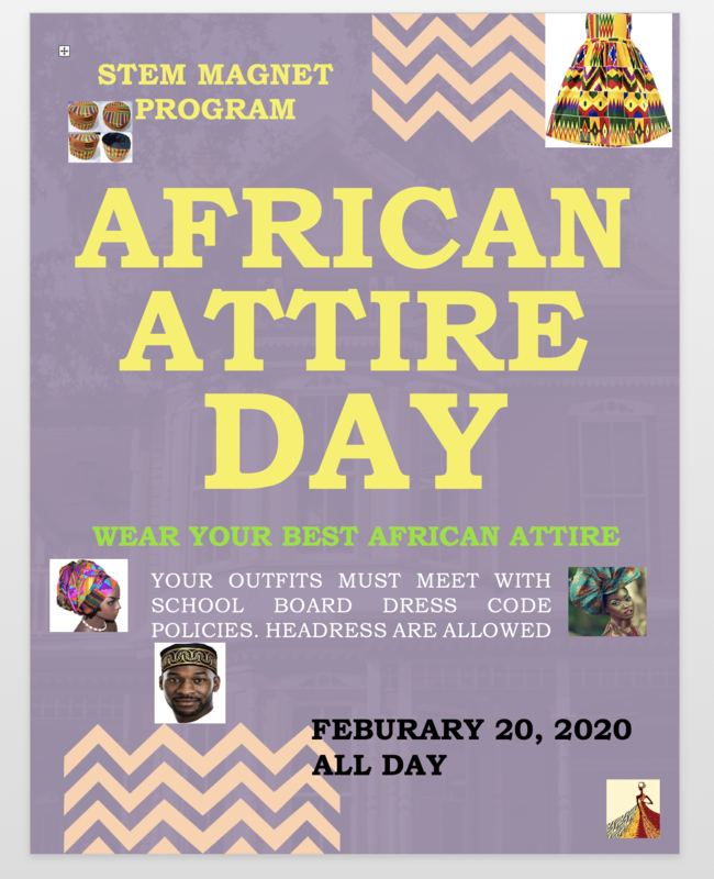 African Attire Day Thumbnail Image