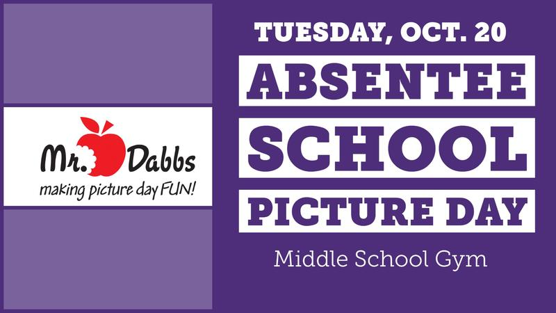 Absentee Picture Day is Tuesday Thumbnail Image