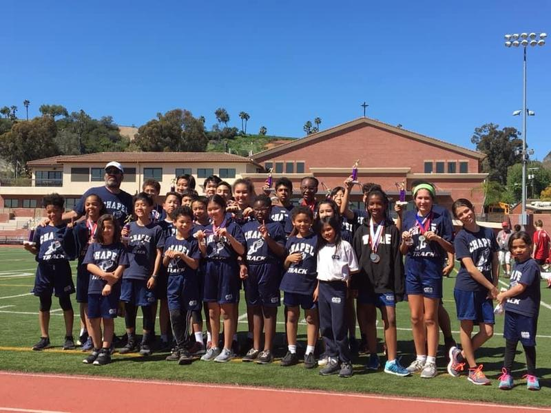 Mr. del Pozo Has Chapel Track Team Up and Running in 2019 Featured Photo