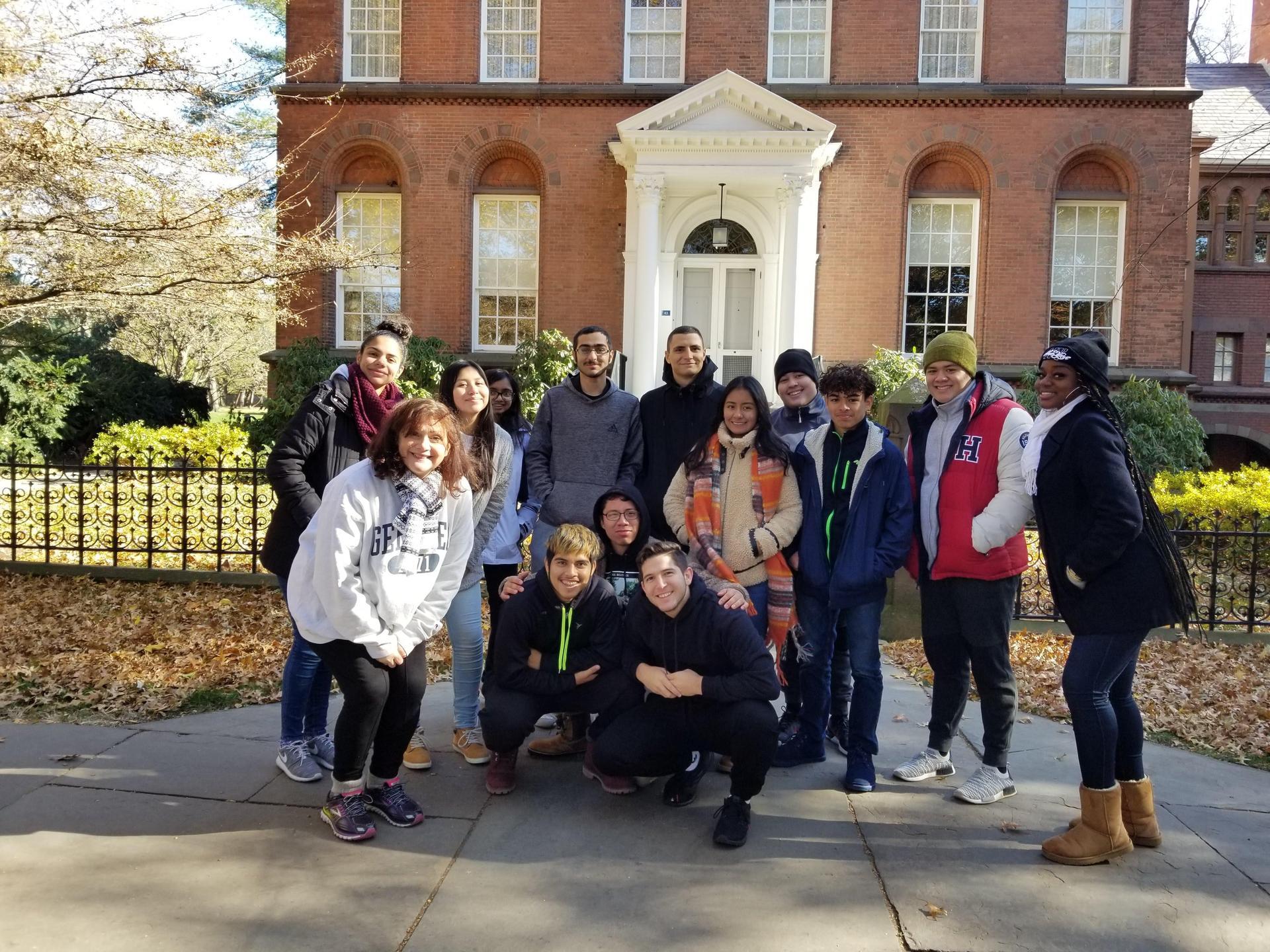 Seniors at Yale U