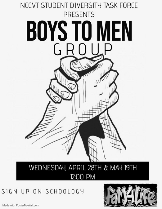 Boys to Men Group Flyer
