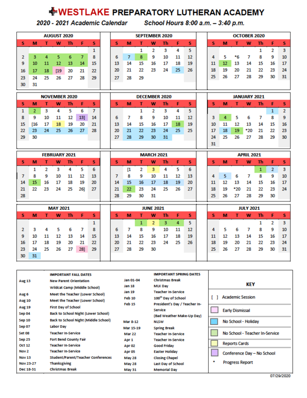 2020-21 Academic Calendar Now Available! Thumbnail Image