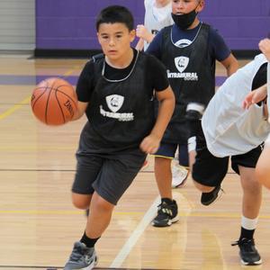 Brayden Medina ISES basketball