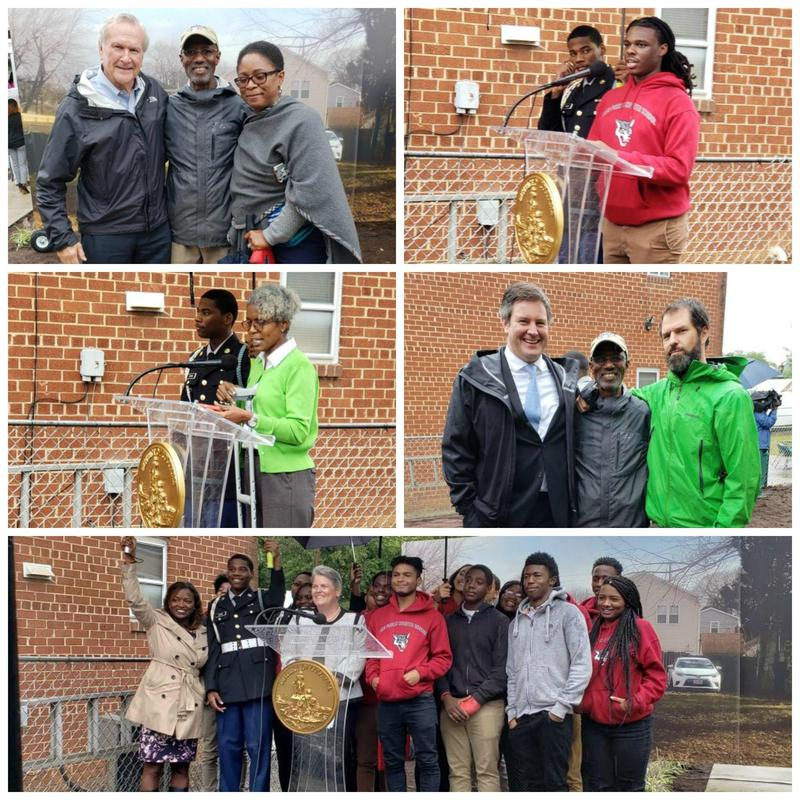 ACAD and JROTC Scholars Assist Mayor Bowser in Unveiling Tiny Houses Thumbnail Image