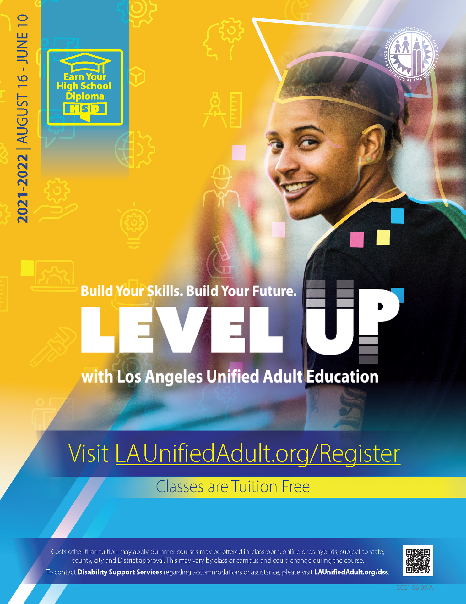 High School Diploma & Equivalency Flyer - Cover 01
