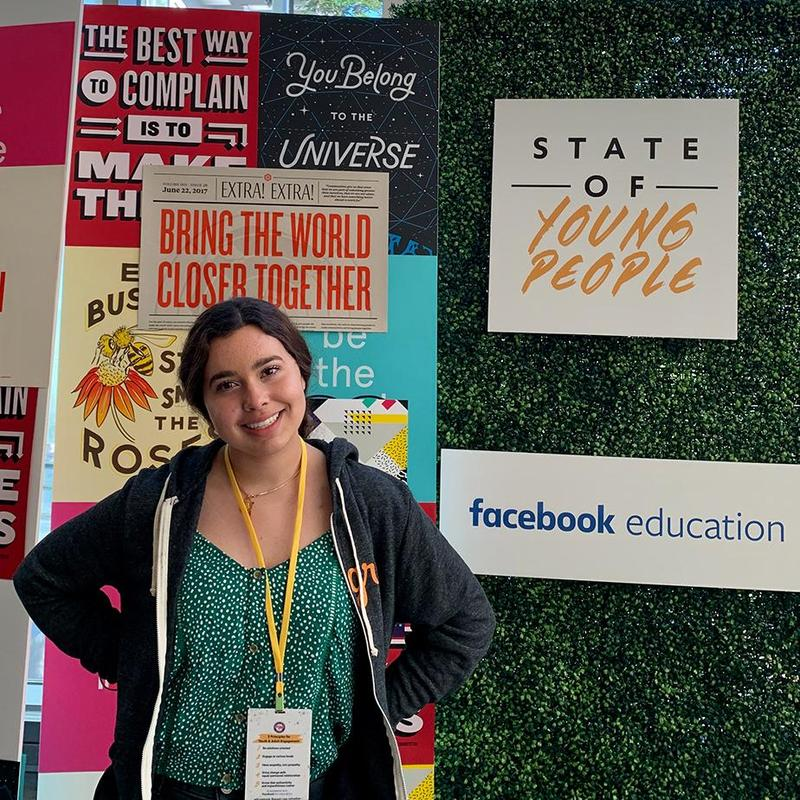 Isabella Tejeda '20 attends youth leadership summit at Facebook Featured Photo