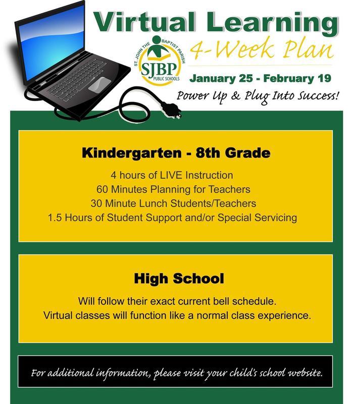 4 Week Virtual Learning Plan Thumbnail Image
