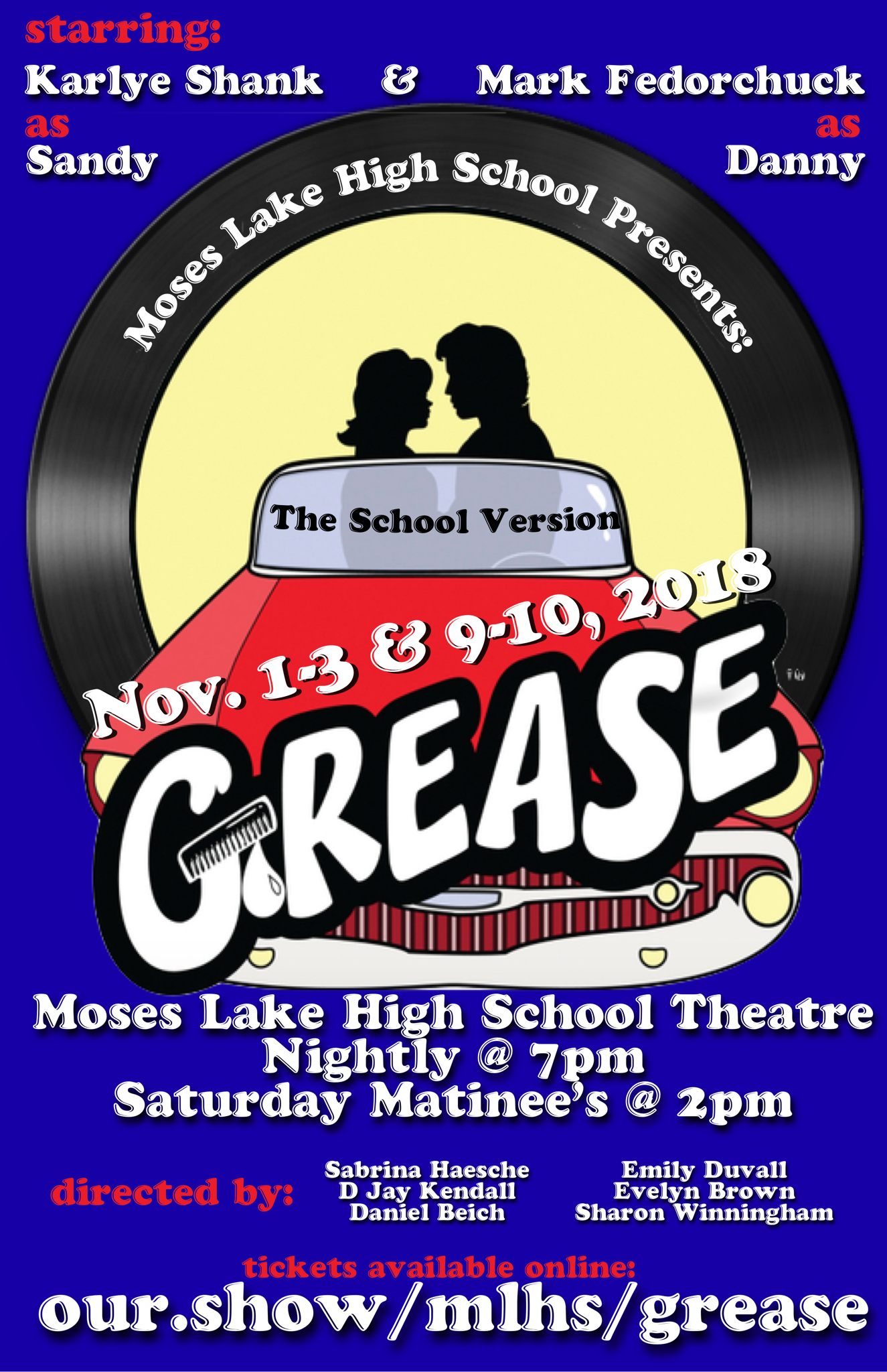 Grease Ad Poster