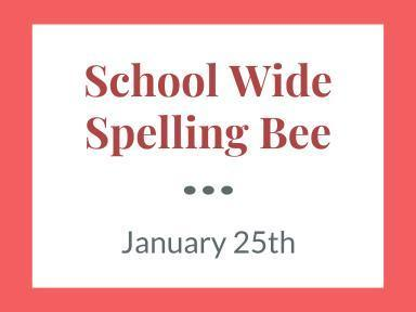 2019 Spelling Bee Featured Photo