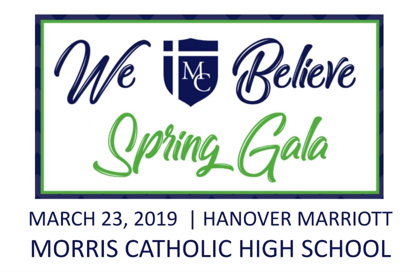 Spring Gala 2019 – Support MCHS – Morris Catholic High School