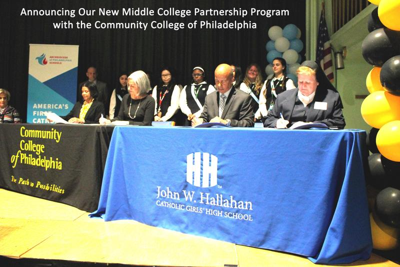 Hallahan/CCP Middle College Partnership Program Featured Photo