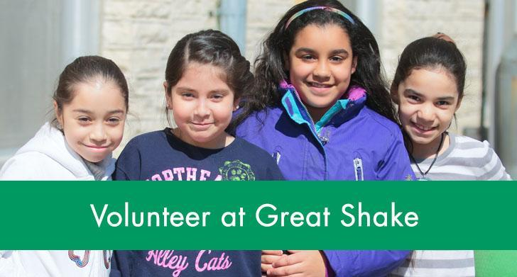 Volunteer at Great Shake