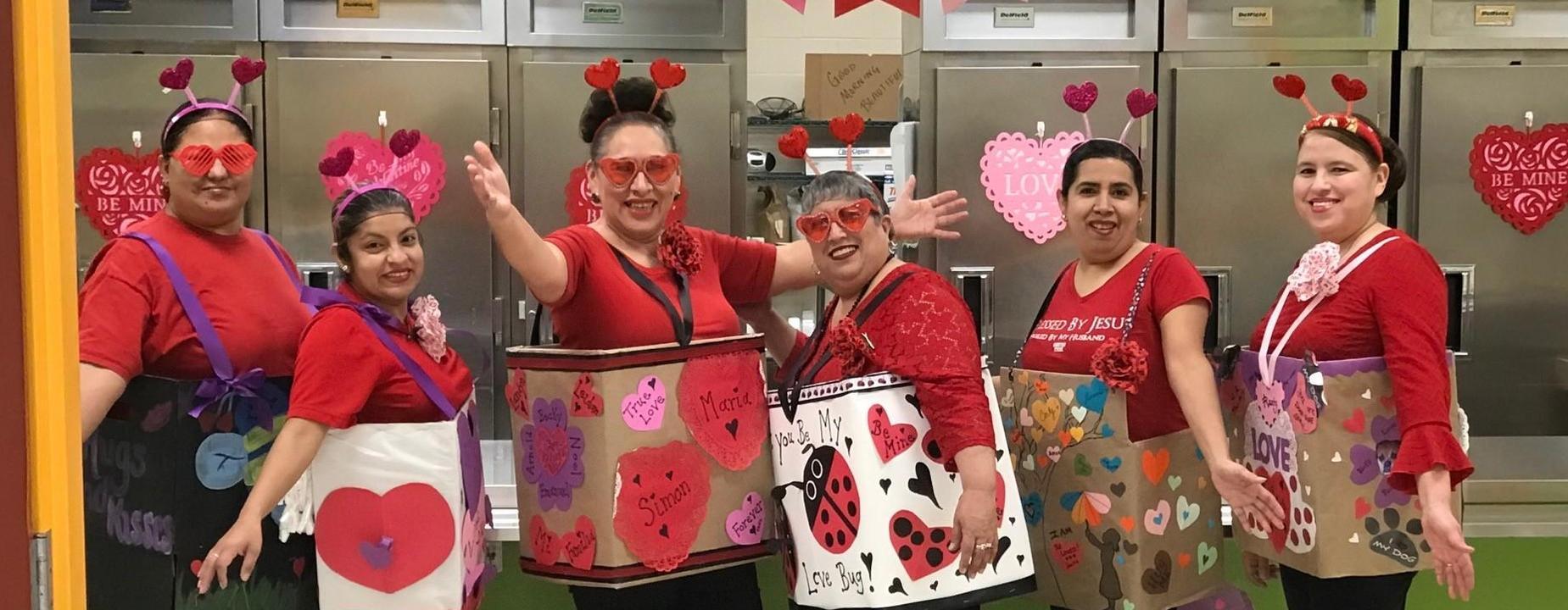 Valentines Primary Cafeteria