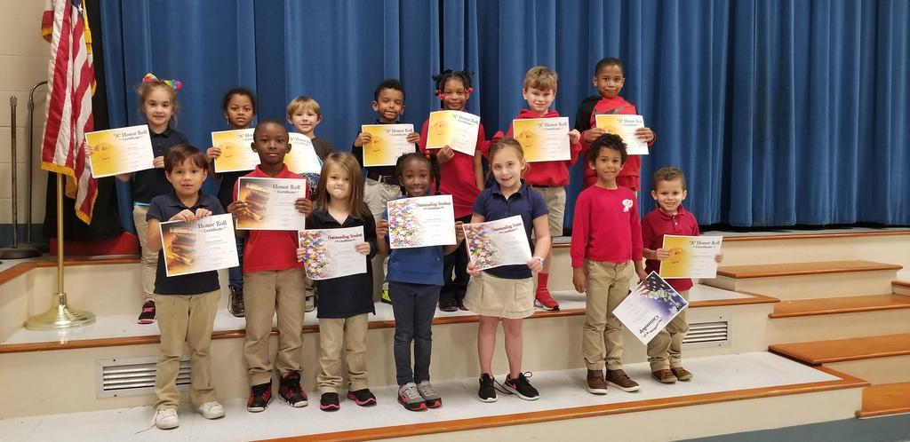 3rd Term Awards - Kindergarten