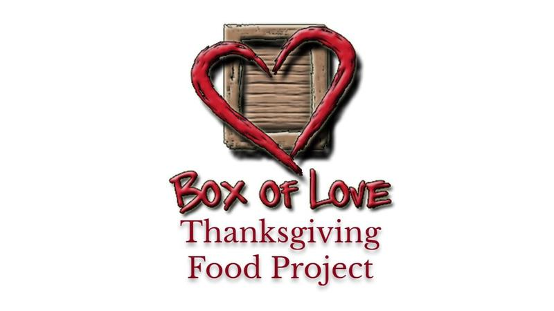 Box of Love - Thanksgiving Food Project Featured Photo
