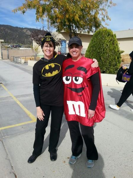 Teachers in costume