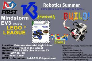 Patriot Engineering summer camp flyer