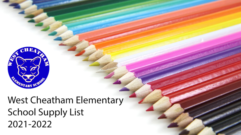 WCE School Supply List for 2021-2022 Featured Photo