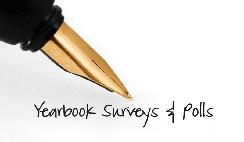 Yearbook surveys and polls logo