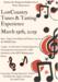 Tunes & Tasting Flyer