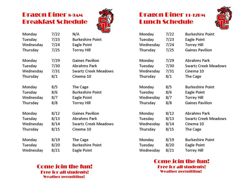The Dragon Diner is here! REVISED SCHEDULE! Featured Photo