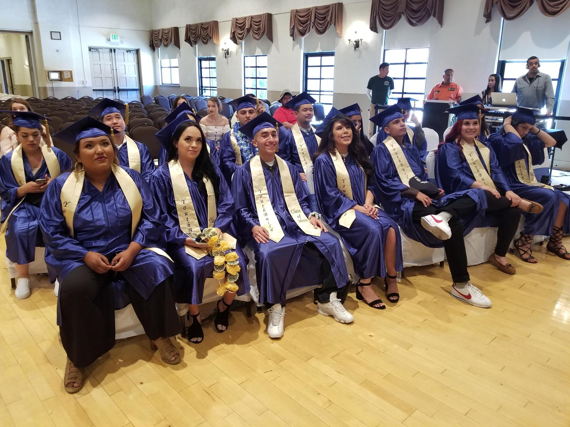 SGVCC 2019 graduates wearing caps and gowns