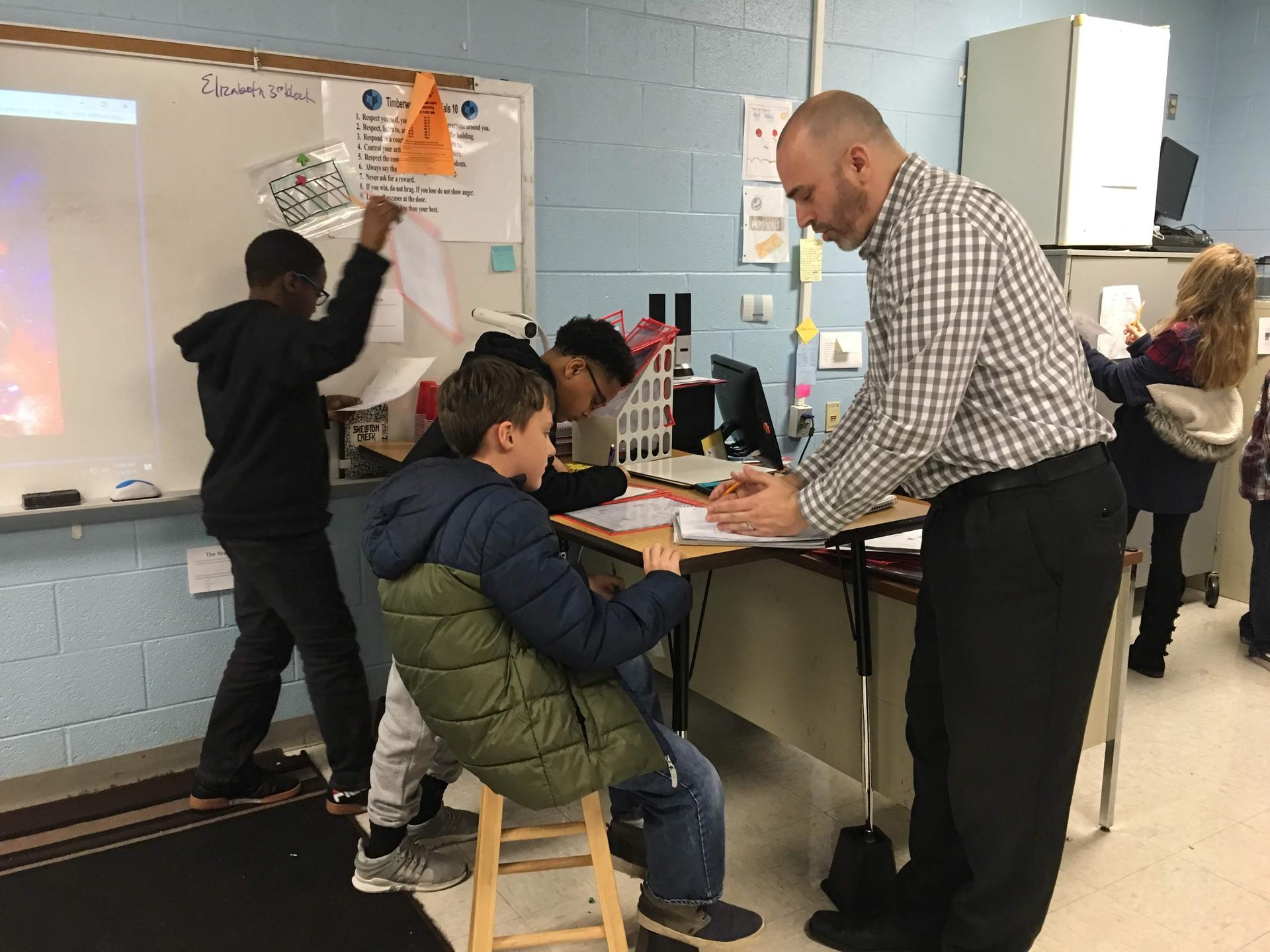 Blended Learning Teacher Interaction