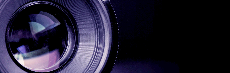A close up of part of a camera lens