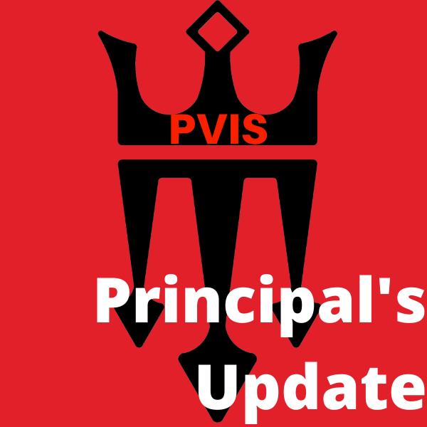 Principal's Update   November 8, 2019 Thumbnail Image