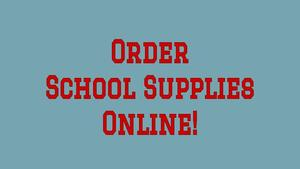 Order School Supplies Online