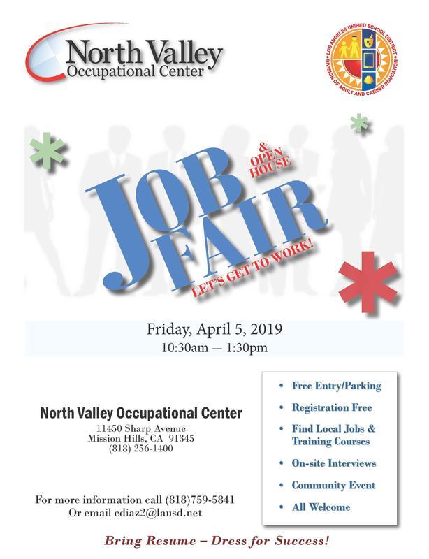 Job Fair 2019 Flyer