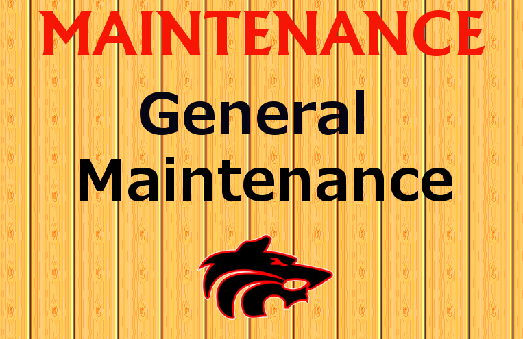 Maintenance Job
