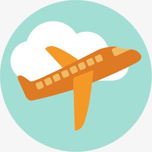 orange plane flying in the sky